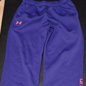 Pants purple under armour